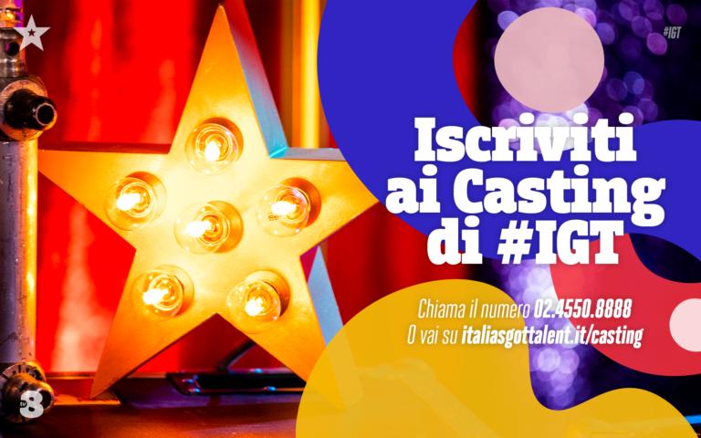 I Casting di Italia's Got Talent 2021 sono aperti